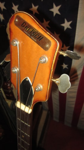 ~1963 Gretsch® Model 6070 Country Gentleman Monkees Bass
