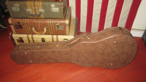 ~2015 Gibson Custom Shop Brown Les Paul Hard Case