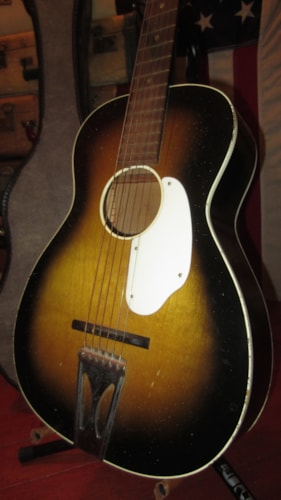 ~1964 Fender Parlor Guitar Small Bodied Acoustic