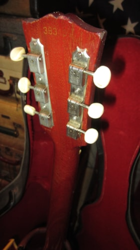 1966 Gibson ES-125 TDC Thin Bodied Hollowbody Electric Double Pickup