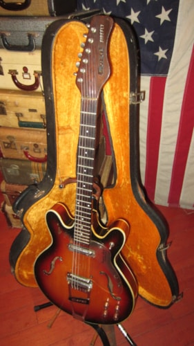 ~1965 Danelectro Vincent Bell Coral Firefly Hollowbody Electric