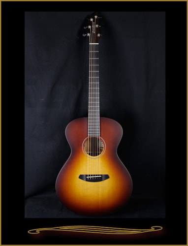 2016 Breedlove USA Concert Moon Light with Electronics