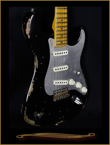 2016 Fender® Custom Shop Limited Edition Heavy Relic® El Diablo Strat®