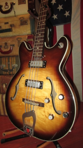~1965 Hagstrom Viking Hollowbody Bass