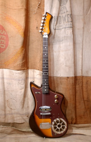 ~1967 Intermark  Guitar with Built in Amp