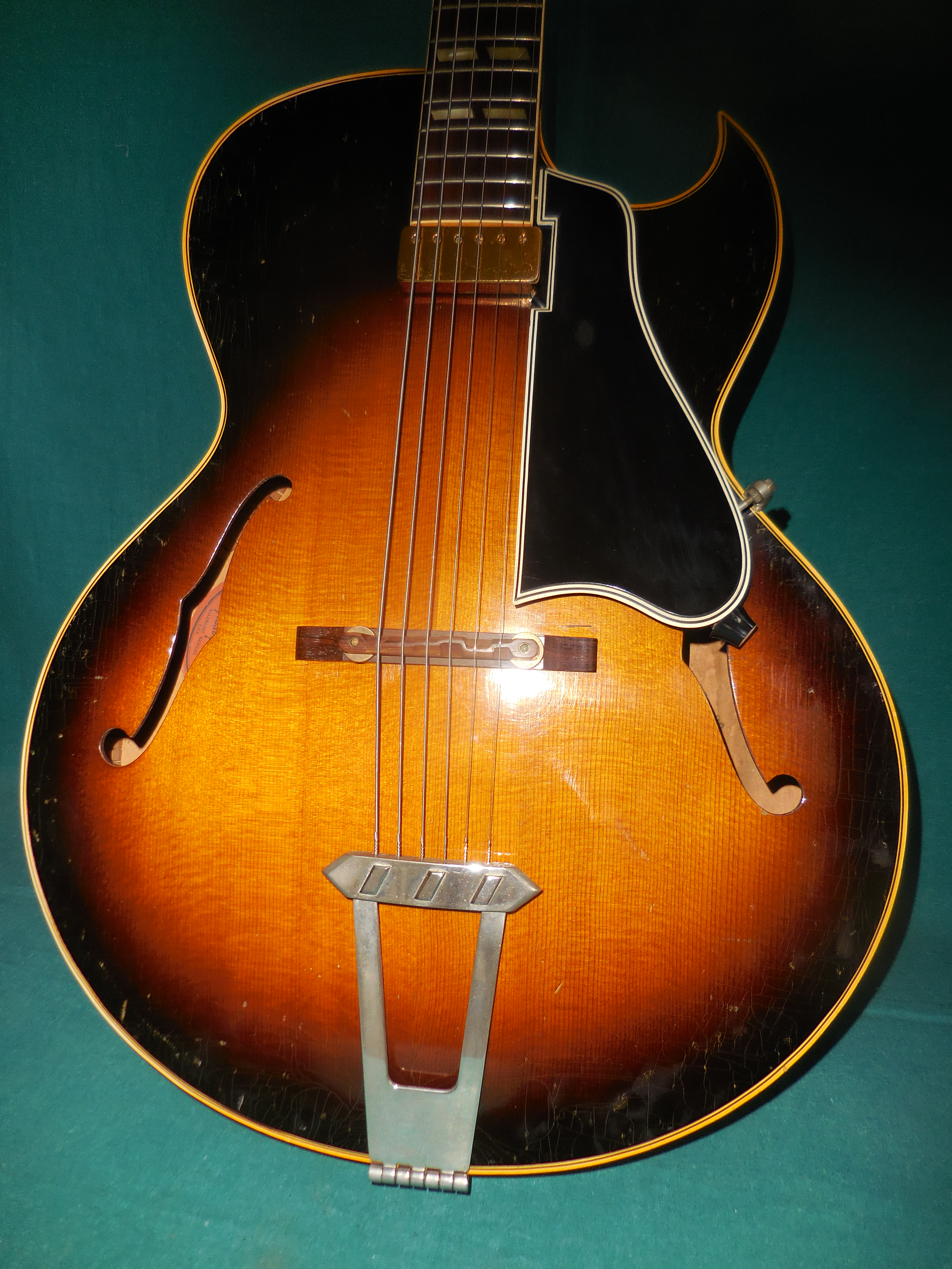 1956 gibson l 4c guitars archtop electric acoustic intermountain vintage guitar. Black Bedroom Furniture Sets. Home Design Ideas