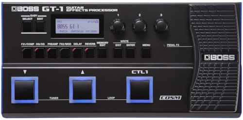 BOSS GT-1 Effects Pedal Board (Roland)