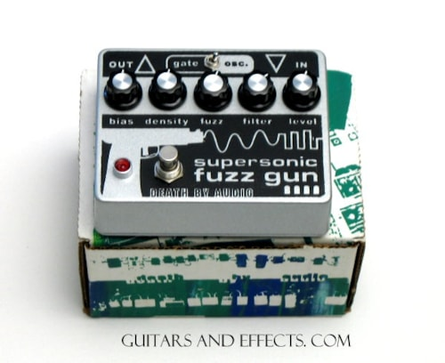 death by audio Death By Audio Supersonic Fuzz Gun Death By Audio Supersonic Fuzz Gun