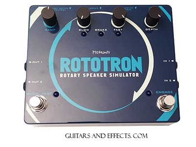 Other Pigtronix Rototron Rotary Speaker Simulator Pigtronix Rototron Rotary Speaker Simulator