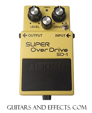 Other Keeley Modded Boss Super Overdrive SD-1