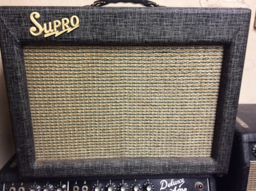 1962 Supro 1624 T LED ZEP JIMMY PAGE!!!!!!