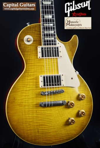 Gibson / Historic Makeovers RDS 59 Les Paul Brazilian 8.4 lbs.