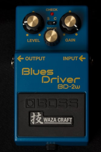 2016 BOSS BD-2w Blues Driver Waza Craft