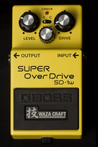 2016 BOSS SD-1w Super Overdrive Waza Craft