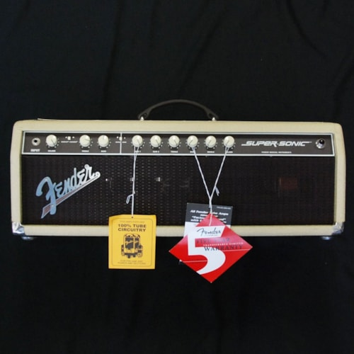 Fender® Supersonic Tube Guitar Amplifier Head