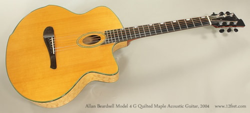 2004 Beardsell 4G Quilted Maple