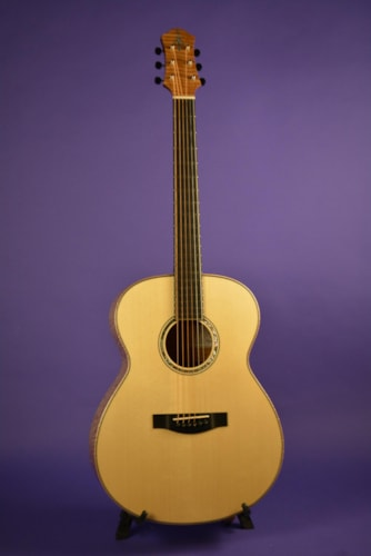 2016 A.Kuwano Guitars model 151 Bold OM Flame Maple