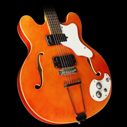 Mosrite Used Mosrite Celebrity Semi-Hollow Electric Guitar Orange