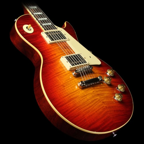 Gibson Custom Shop Used 2015 Gibson Custom Shop Murphy Aged True Historic 1959 Les Paul Reissue Electric Guitar Aged Vintage Cherry Sunburst
