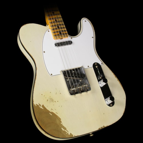 Fender® Custom Shop '67 Telecaster® Heavy Relic® Electric Guitar Aged White Blonde