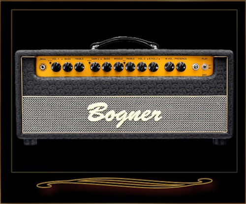 2016 Bogner Shiva Head with EL34s and Reverb