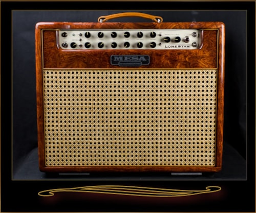 2016 mesa boogie private reserve lone star 1x12 combo bubinga amps preamps the guitar. Black Bedroom Furniture Sets. Home Design Ideas