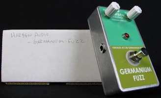 2014 Harben Audio Germanium Fuzz