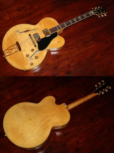 1957 Gibson ES 350 TDN Blonde gt Guitars Archtop Electric