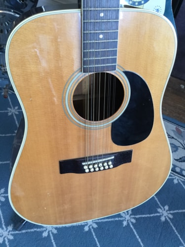 ~1980 Sigma DR-12 12-String Acoustic Guitar