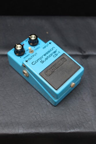 1980 BOSS Compression Sustainer CS-1 Pedal