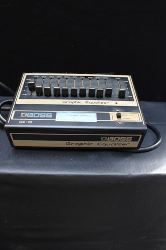 1983 BOSS Graphic Equalizer GE-10