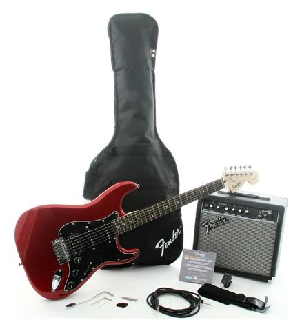 2014 Squier® Affinity Series™ Strat® HSS with Fender® Frontman 15G Amp