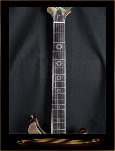 2016 McSwain Guitars StaCool Motor Oil SM-1