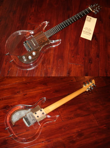 1969 Ampeg Dan Armstrong Lucite Guitar
