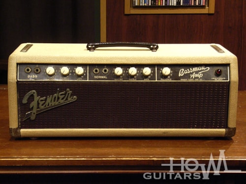 1961 Fender USA Bassman 6G6 Export Model