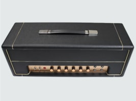 2016 Grand Point to Point All Tube Guitar Amplifier Head, 50W
