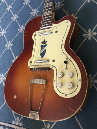 1959 Silvertone Jimmy Reed Electric Guitar