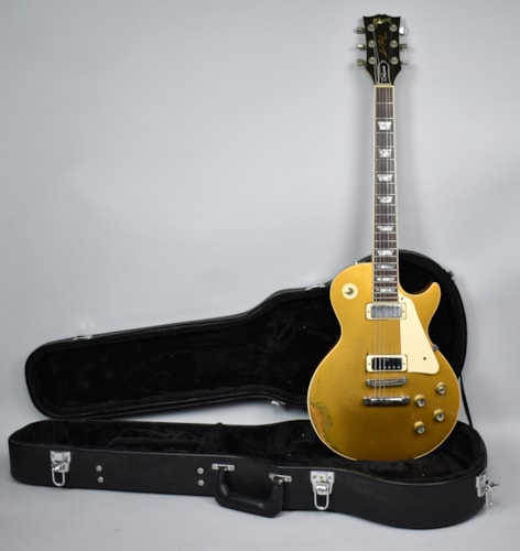 1978 Gibson Les Paul Deluxe Vintage Electric Guitar Goldtop USA w/HSC