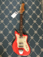 1970 Lindell (Teisco Made) Electric Guitar