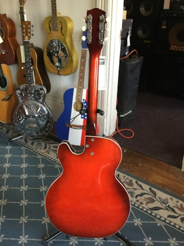 ~1960 Harmony Rocket (3 Pickup) Hollow Body Electric Guitar