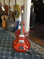 1960 Harmony Rocket (2 Pickup) Hollow Body Electric Guitar