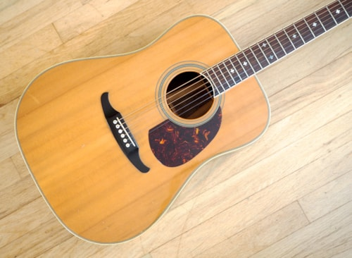Fender Capistrano Dreadnought Acoustic Guitar Spruce Rosewood Japan