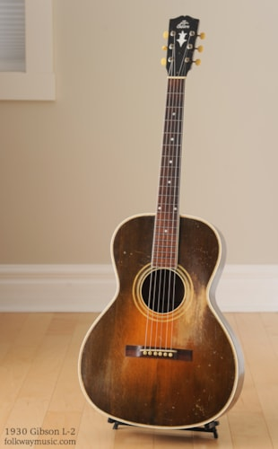 1930 Gibson L-2 Gold Sparkle