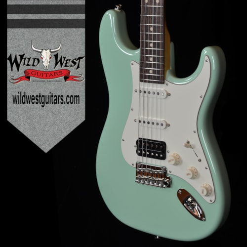 Suhr Classic Pro HSS Rosewood Board Surf Green