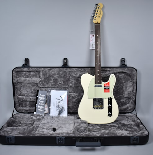 2016 Fender® American Professional Telecaster® Olympic White Electric Guit