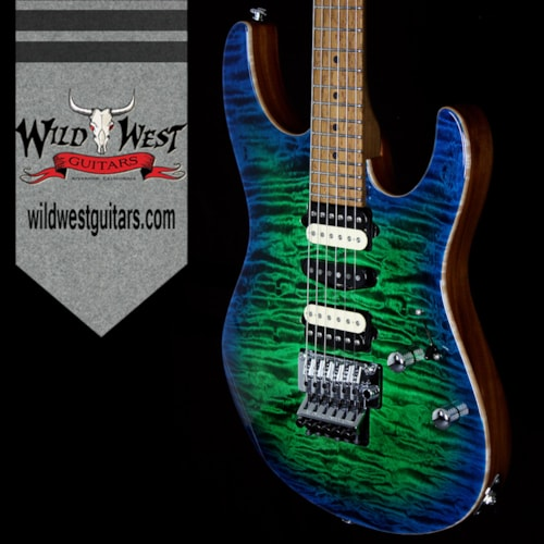 2016 Suhr SUHR MODERN QUILT TOP 3A ROASTED MAPLE NECK