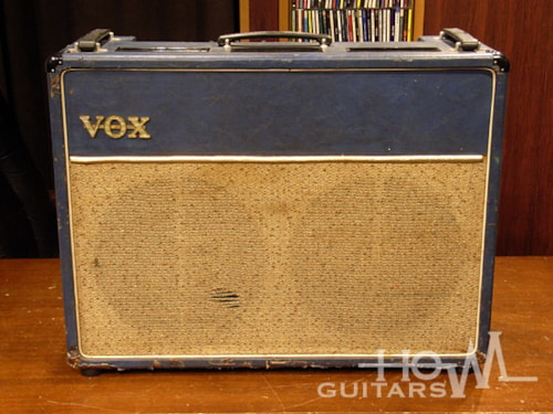 1963 Vox AC-30 JMI Top Boost BLUE