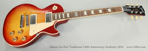 2014 Gibson Les Paul Traditional