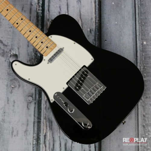 Fender Standard Telecaster Lefty Black