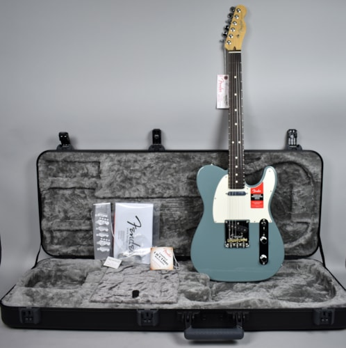 2016 Fender® American Professional Telecaster® Sonic Gray Electric Guitar